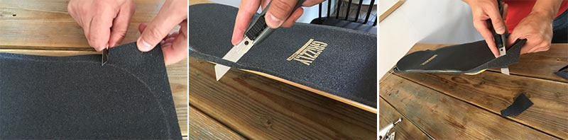 how to cut skateboard grip tape preview