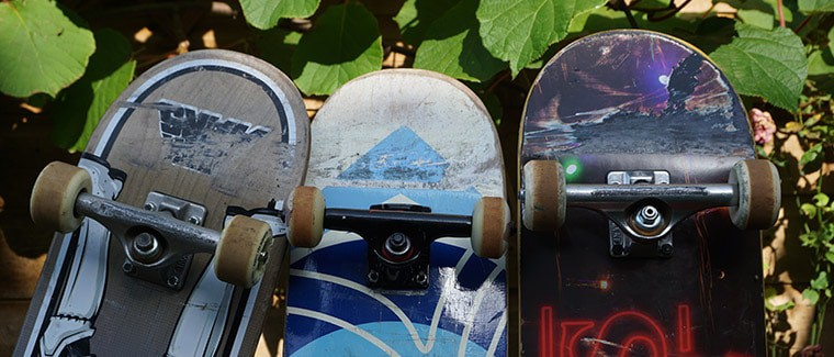 skateboards for tricks